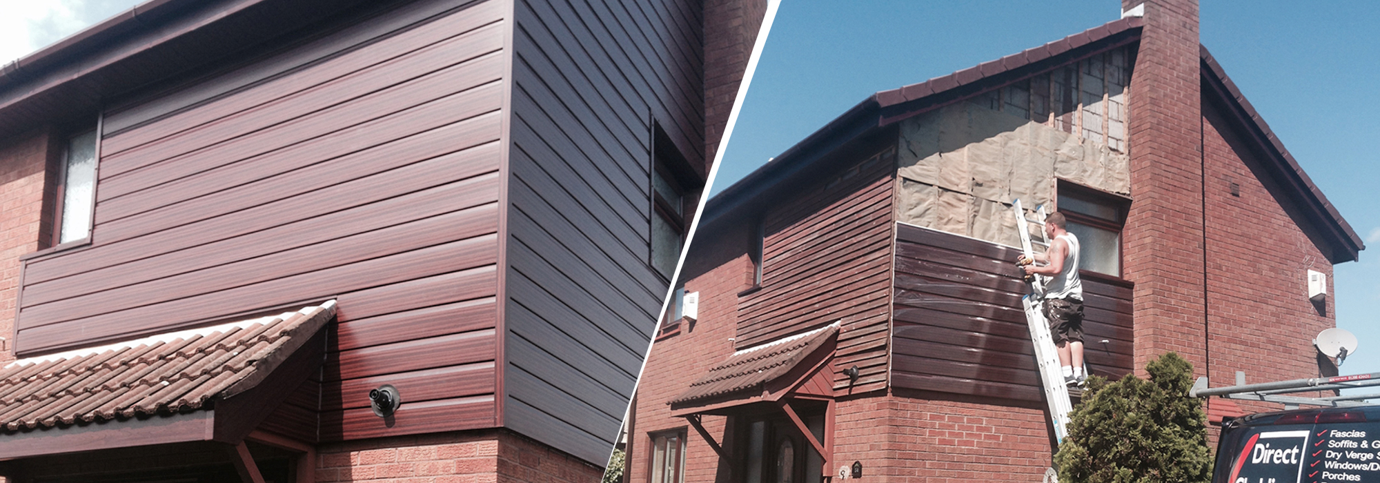 Fascias And Soffits Wigan Direct Cladding Roofer Wigan